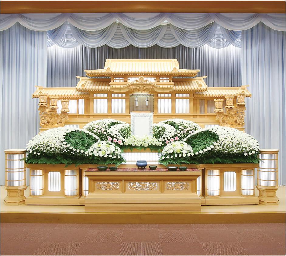 仏式祭壇の一例