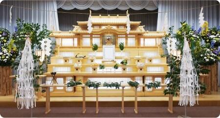 神葬祭祭壇の一例