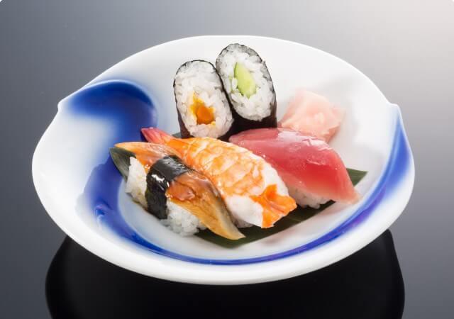 にぎり寿司3貫