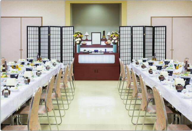 ホール会食場イメージ(法事室)