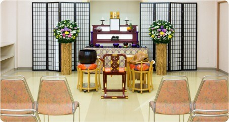 ホール法要祭壇