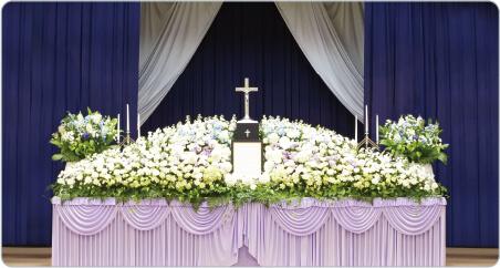 キリスト教祭壇の一例