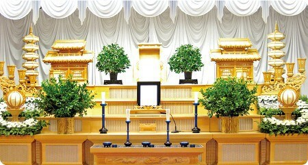 友人葬祭壇の一例